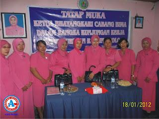 Bhayangkari Cabang Bima Perkuat Silaturahmi Anggotanya
