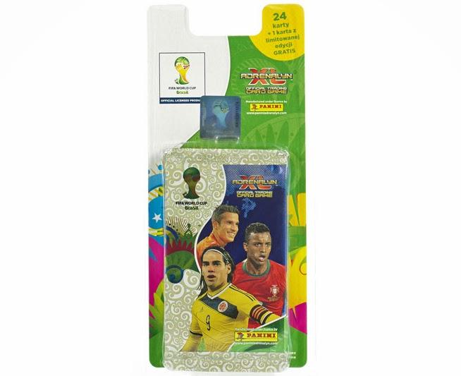 Kolekcja kart 2014 FIFA WORLD CUP BRAZIL™ ADRENALYN XL z Biedronki