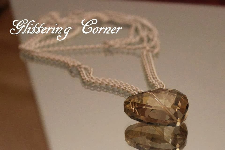 Glittering corner