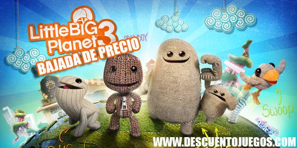 little big planet 3 para ps4 y ps3