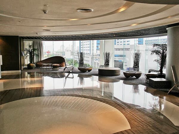F1 Hotel Manila Lobby and Front Desk