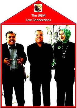 Marissa Haque, Denny Indrayana, Patrialis Akbar, UGM Law  Connections 2009
