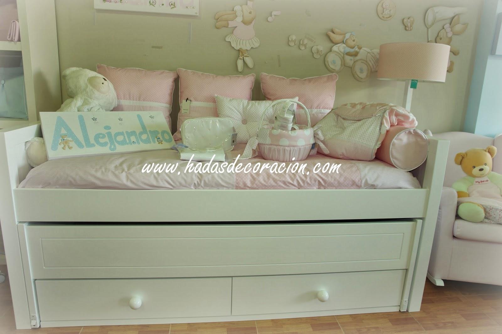 Hadas moda y decoracion infantil cama compacta de trebol for Cama compacta infantil