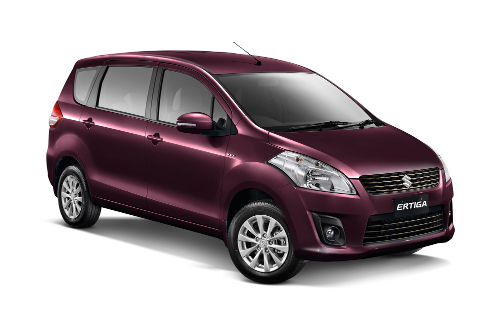 Warna Suzuki Ertiga Burgundy Red