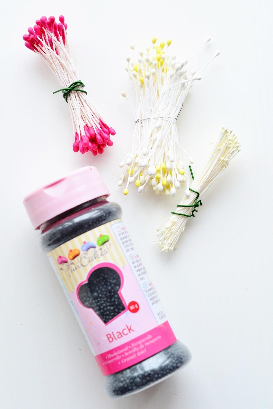 Kessy\'s Pink Sugar: Pinke Anemonen Torte - Unwired anemones