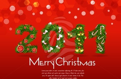 download free christmas 2011 card red background - Free Christmas Cards To Download