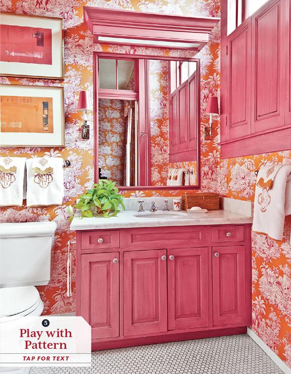 Aesthetic Oiseau: Melissa Rufty Toile Bathroom
