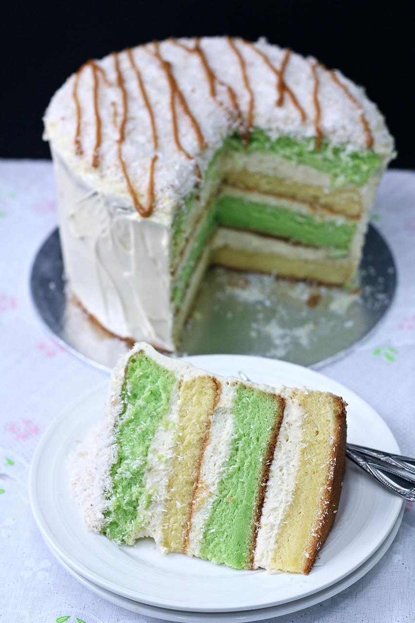 Pandan Layer Cake Recipe Blog
