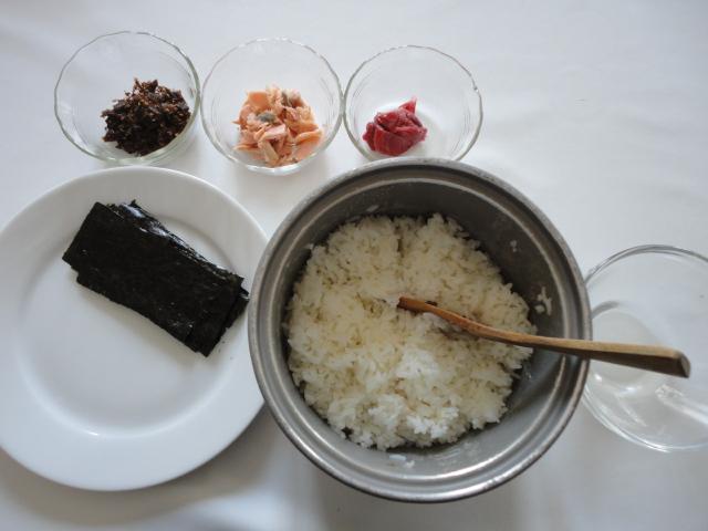 Ma vraie cuisine japonaise boulette de riz au saumon - Ma vraie cuisine japonaise ...