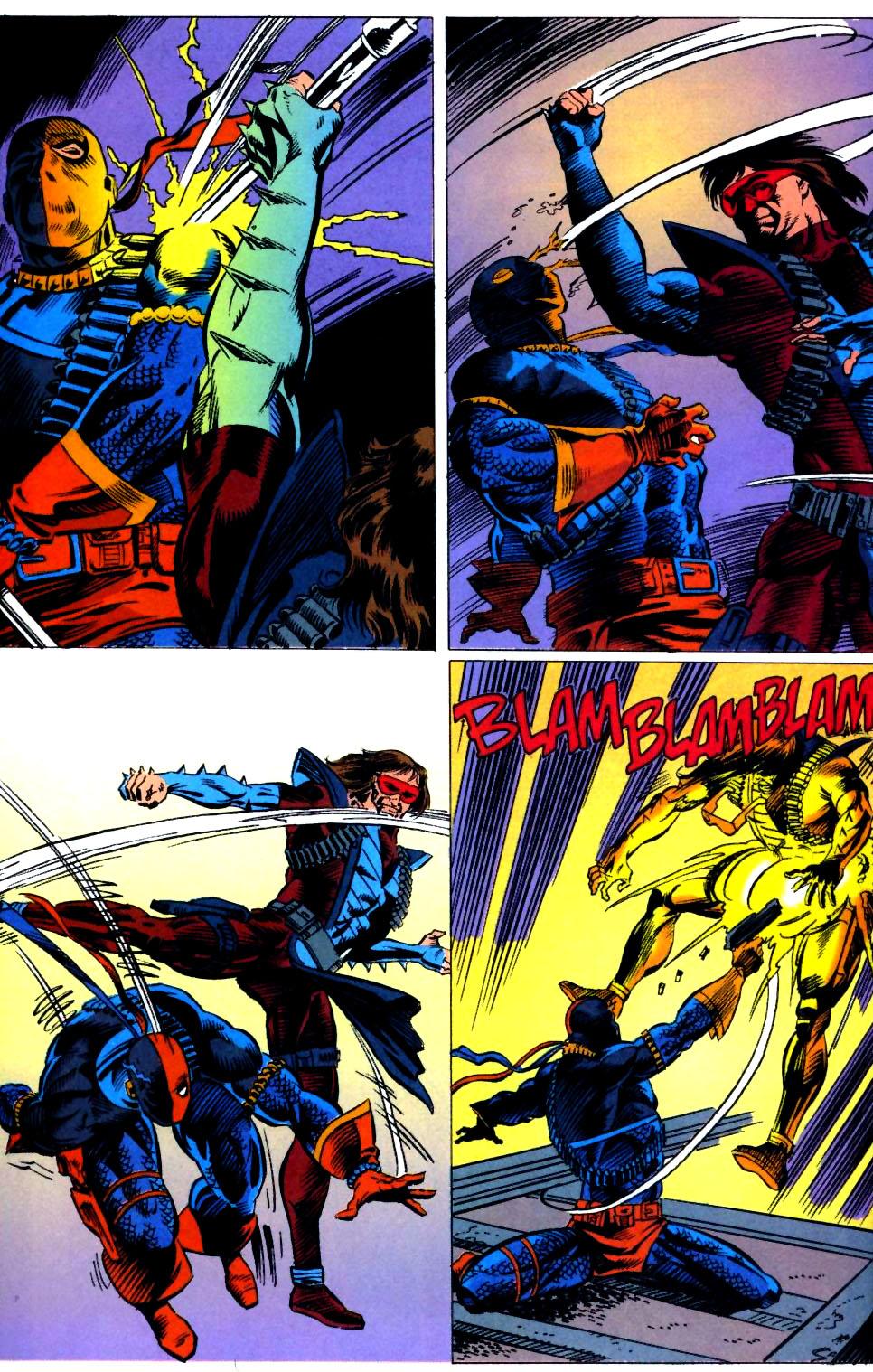 Deathstroke (1991) Issue #23 #28 - English 17