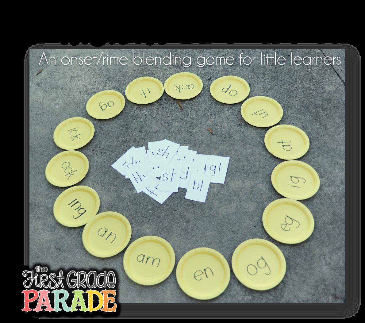 Phonics Friday! - The First Grade Parade
