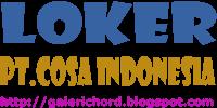 Lowongan Kerja Terbaru PT.Cosa Indonesia