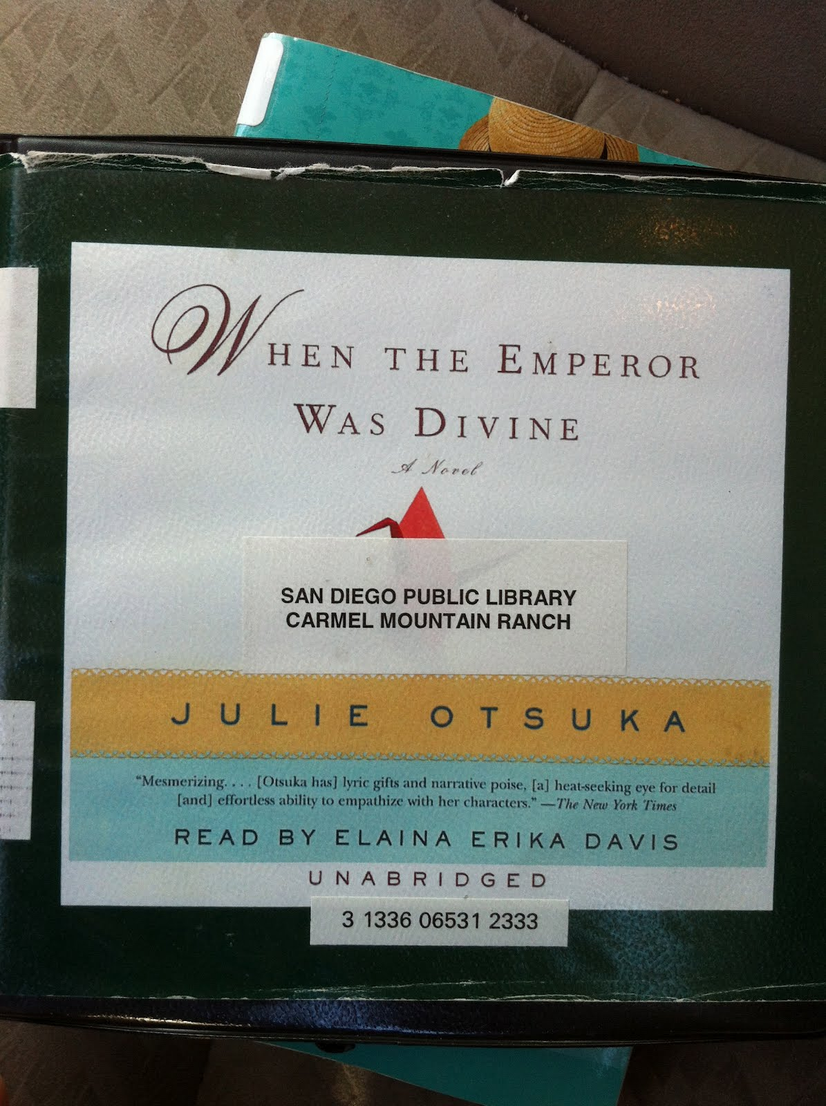 the struggle of a japanese american family in the novel when the emperor was divine by julie otsuka The novel when the emperor was divine tells the story of a japanese-american family separated and incarcerated after the outbreak of world war ii the novel begins in berkeley, california in the days leading up to the forced relocation and follows the family until their return after the war the.