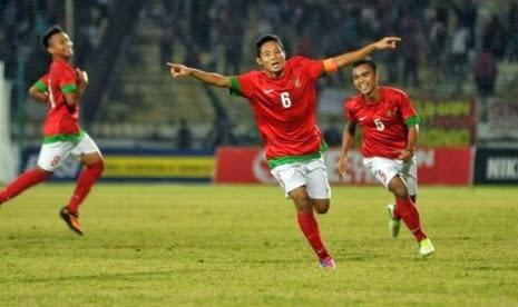 Timnas Indonesia Menang 4-0 atas Laos