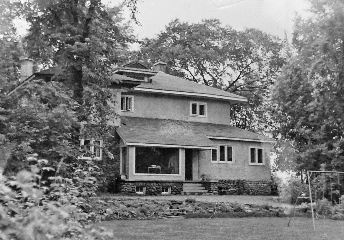 371 Fraser - the first officially built on the street
