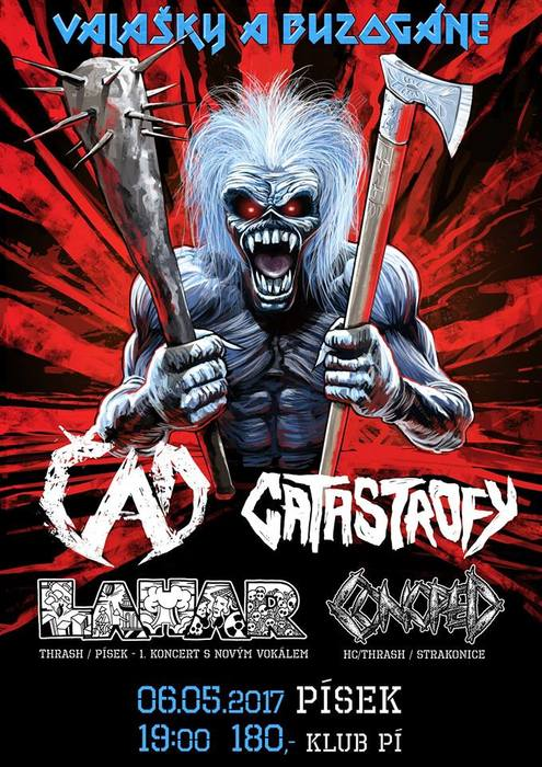 6. 5. 2017 - ČAD, CATASTROFY, LAHAR, CONOPED