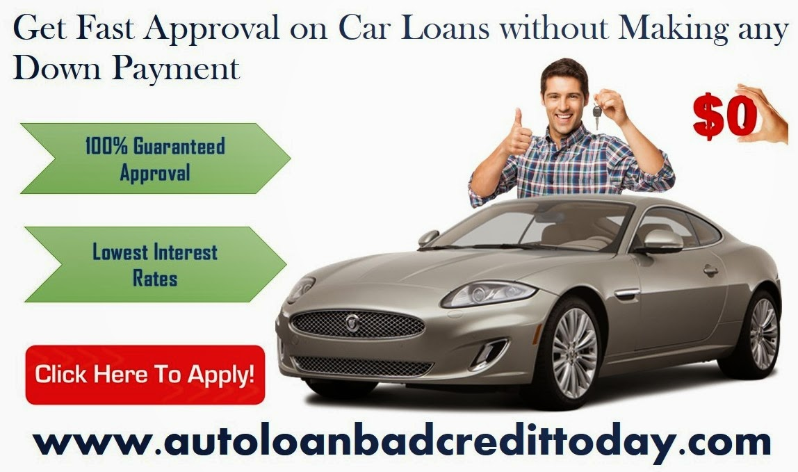 Car Loan For Bad Credit With No Money Down