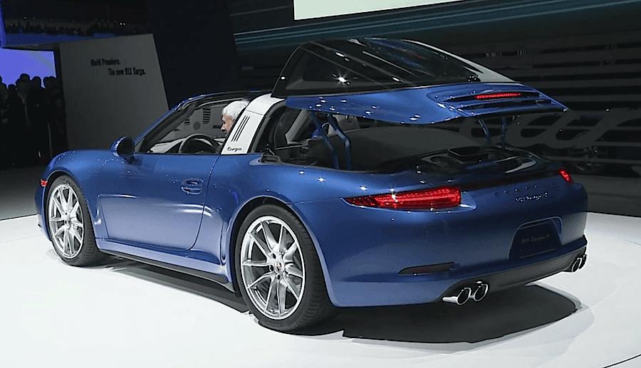 ポルシェの新型モデル「911タルガ4」がワールドプレミア|idea Web Tools 自動車とテクノロジーのニュースブログ