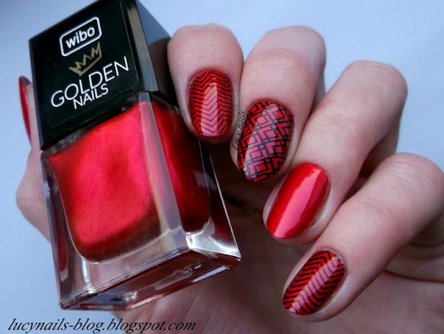 Wibo Golden Nails nr 1