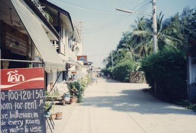 street in Hua Hin Thailand