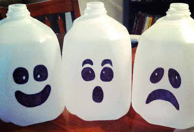 re-using milk jugs