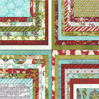 Moda ASPEN FROST Christmas Quilt Fabric by Basic Grey