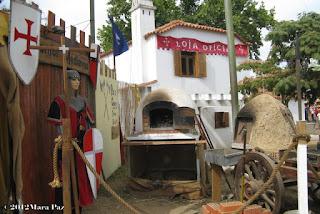 Cena da época medieval
