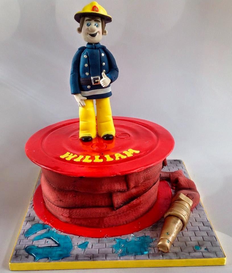 The Perfectionist Confectionist William Fireman Sam Birthday Cake