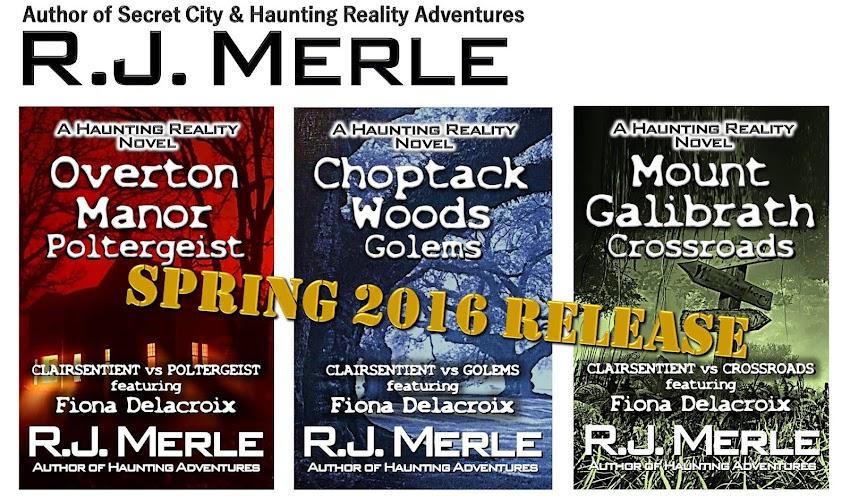R.J. Merle's Author Blog