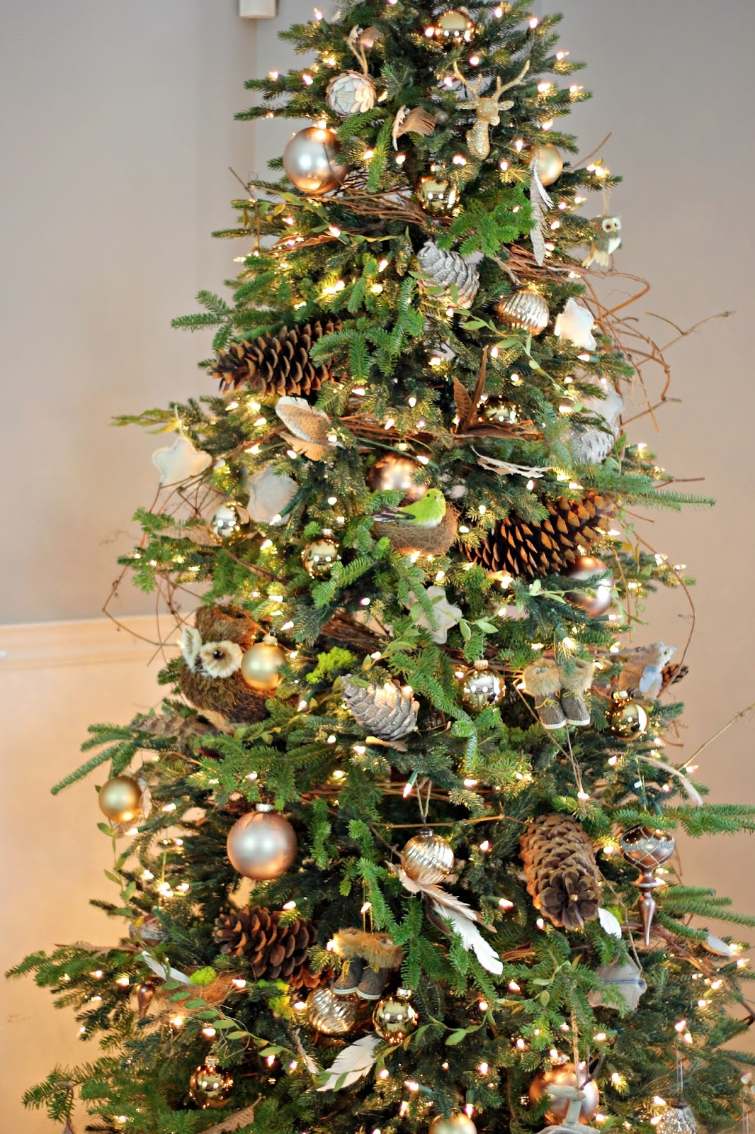 Balsam Pine Artificial Christmas Tree