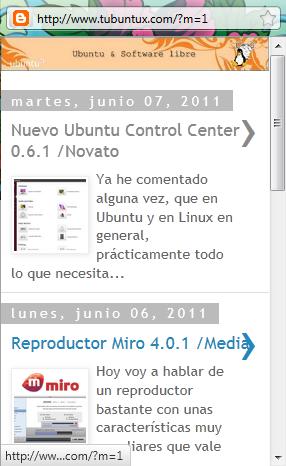 Ubuntu & Software libre en versión movil
