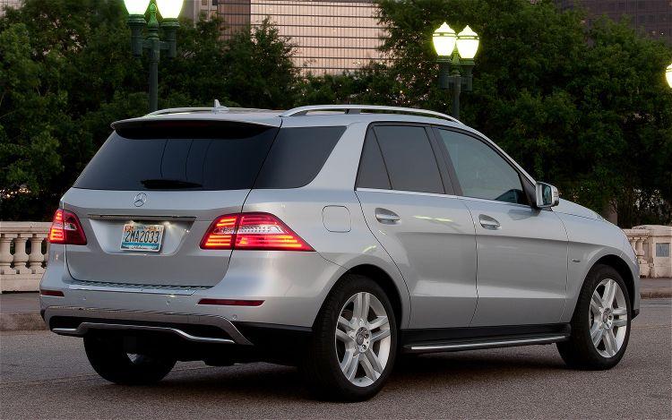 2012 Mercedes-Benz ML-Class SUV