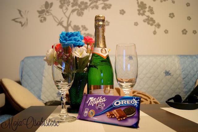 szampan i czwkolada
