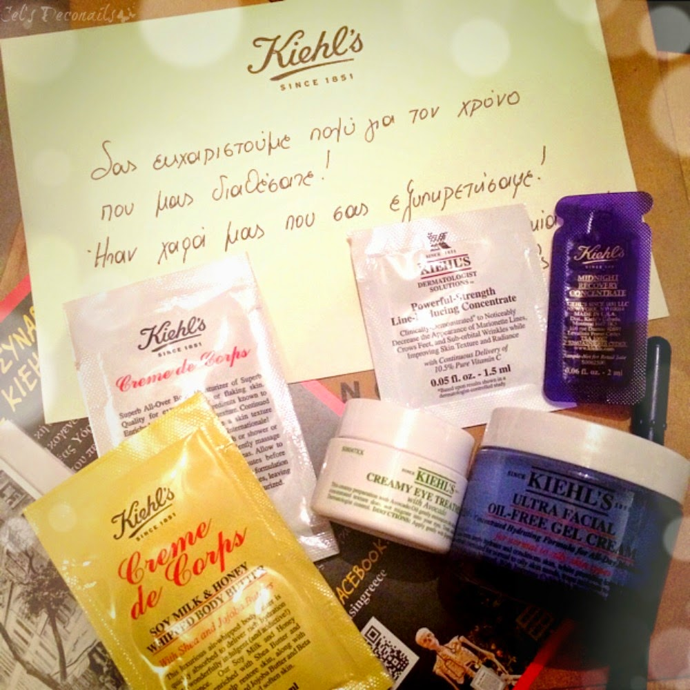 Kiehls haul and samples