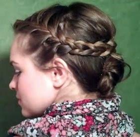 cepol rambut untuk pesta tahun baru