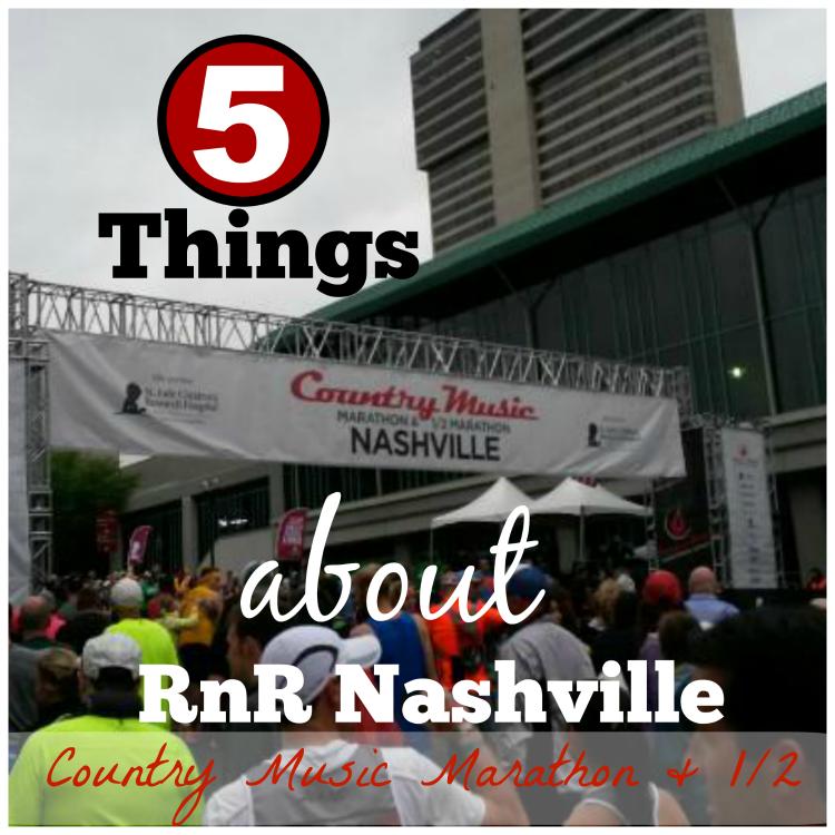 Rock n Roll Nashville half marathon