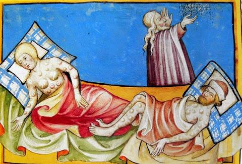 Cái Chết Đen từ Kinh Thánh Toggenburg