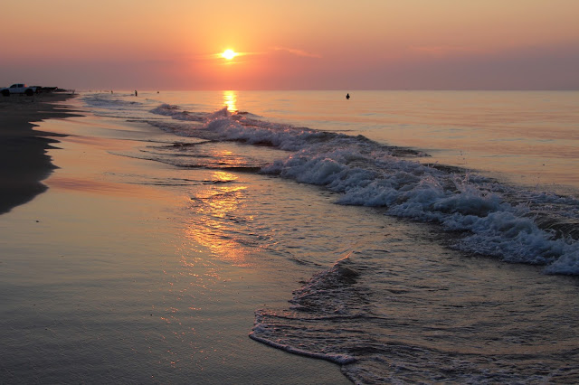 Sunrise at Matagorda Beach
