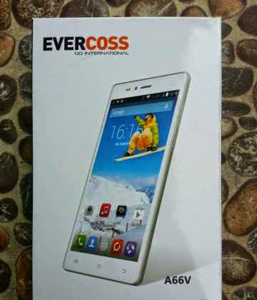 Evercoss A66V, Spesifikasi HP Murah OS Android KitKat Harga 1,5 Juta