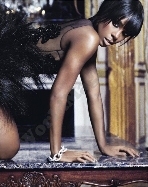 Glam AlertKelly Rowland for David Oldham UK Marie Claire