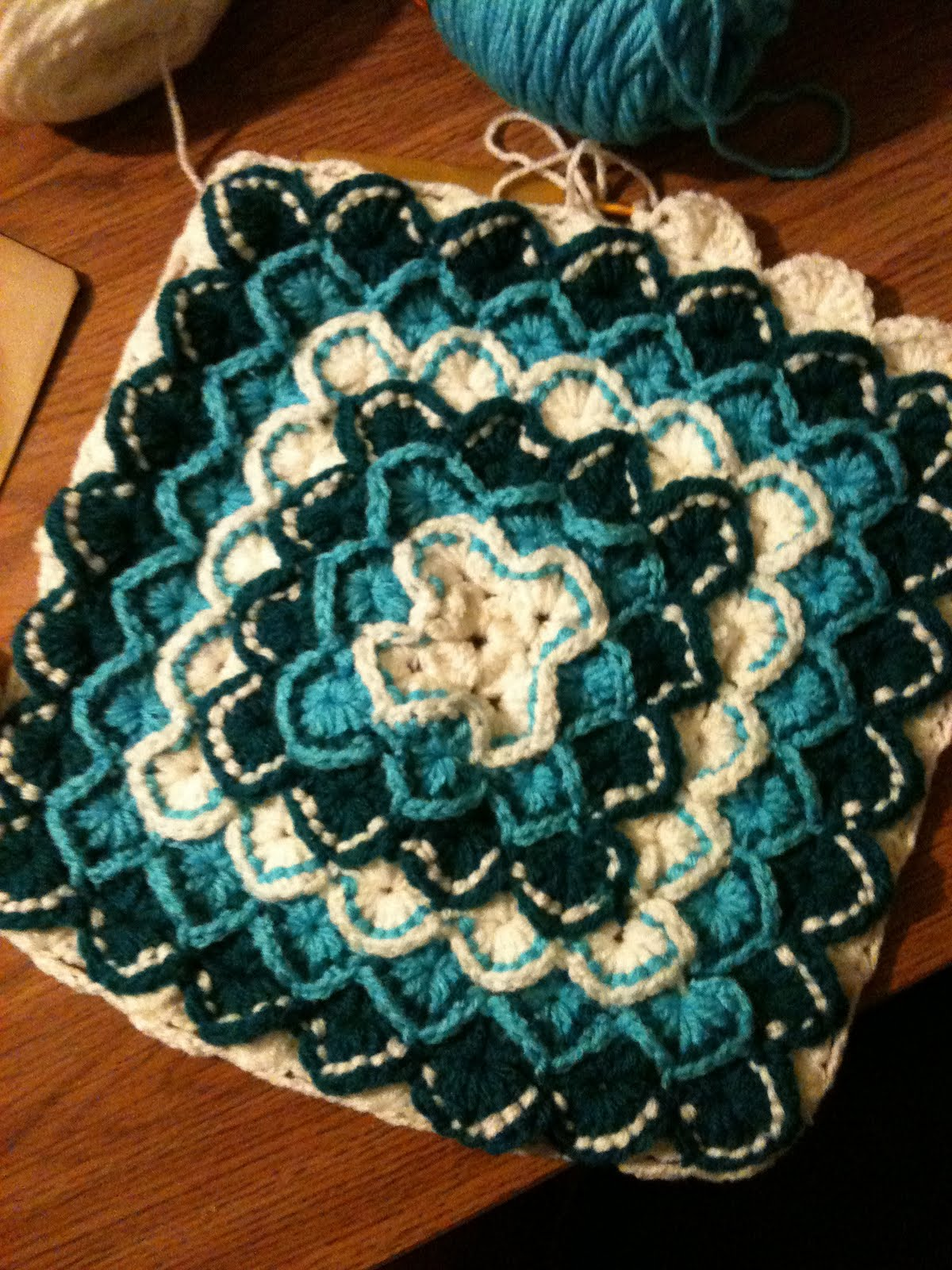 Free Crochet Pattern Lap Blanket : ALKO_Hawaii: New crochet lap blanket