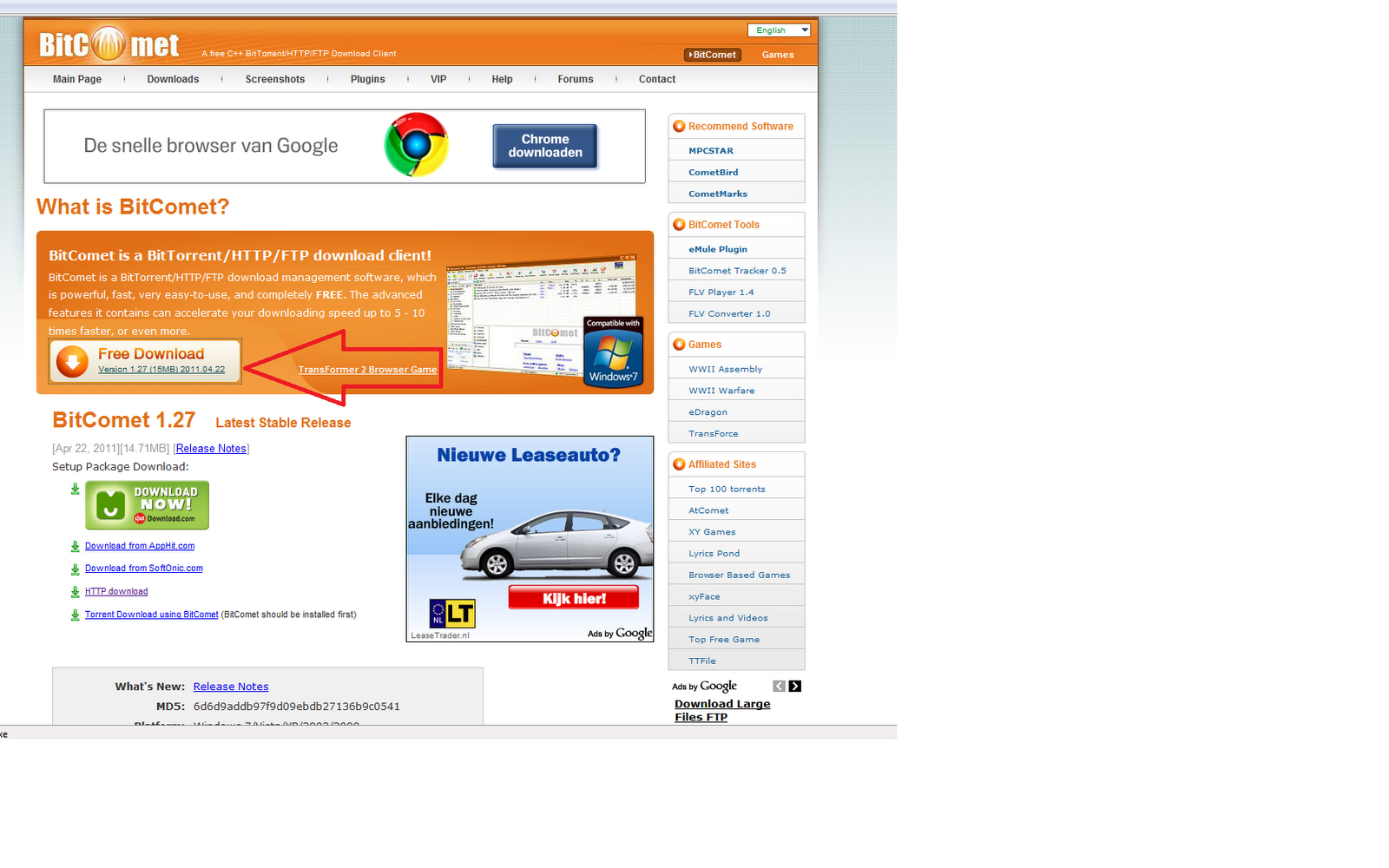 WatFile.com Download Free bitcomet-download png