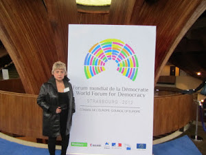 *WORLD FORUM FOR DEMOCRACY AU CONSEIL DE L'EUROPE À STRASBOURG*