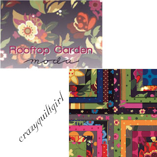 Moda ROOFTOP GARDEN Quilt Fabric