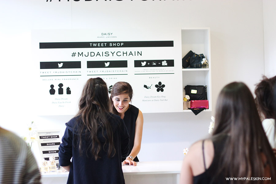 marc jacobs pop up tweet boutique, london, blogger