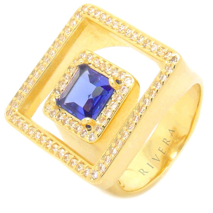 anel semi joia pedra
