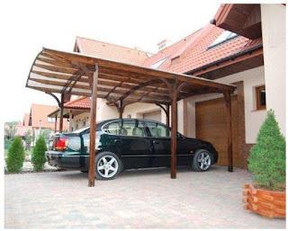 Contoh Model Garasi Mobil Rumah Minimalis Terbaru