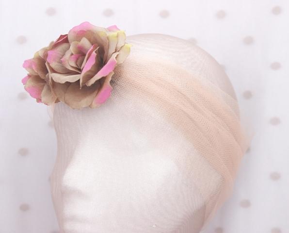 Colección La Playa - Banda crin Rosa flor