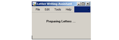 Preparing letters in Microsoft Dynamics GP