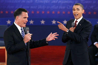 Obama and Romney Second Debate